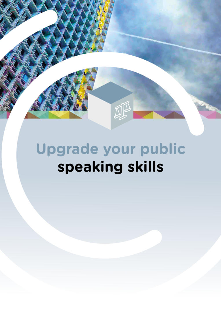 pgrade your public speaking skills @CompetenceCentre