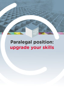 Paralegal position: upgrade your skills
