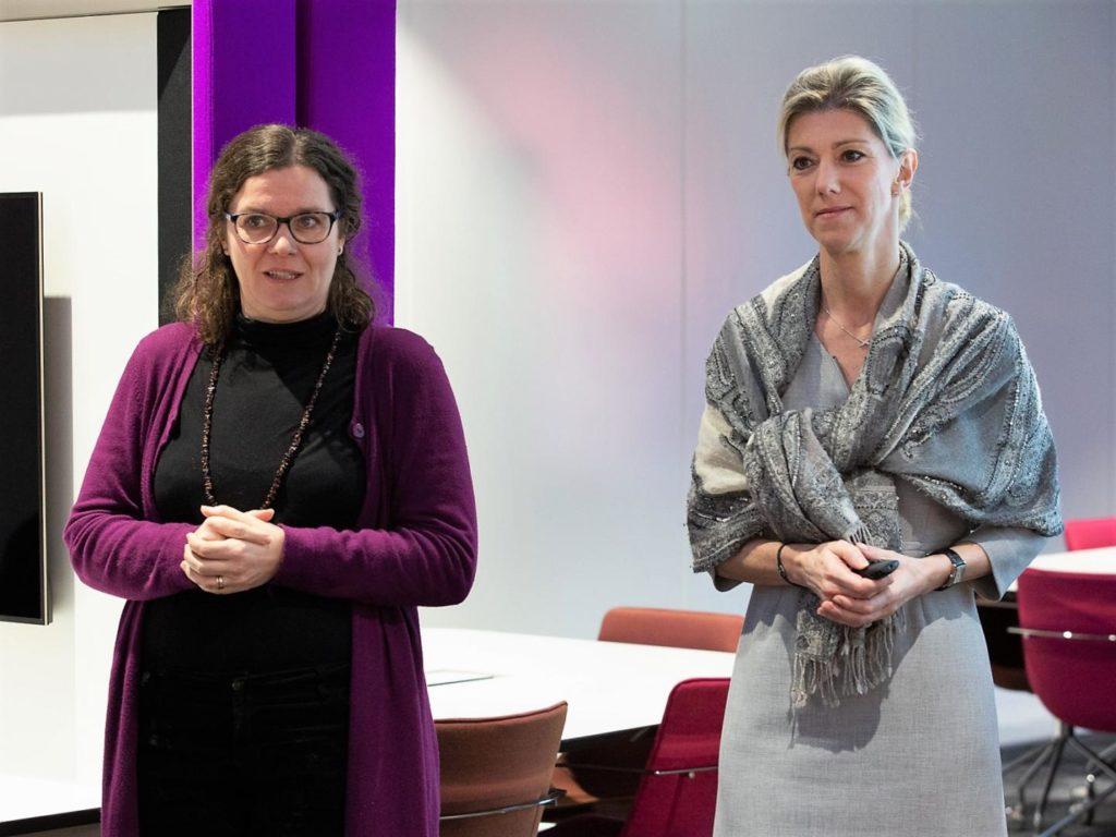 Prof. Dr Catherine Léglu & Anne Oberlé @CompetenceCentre