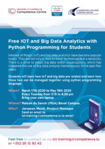 Cisco NetAcad IOT - Big data- Python Programming @ CompetenceCentre
