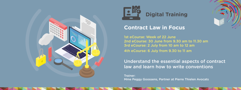 Digital trainings by our Legal Cluster