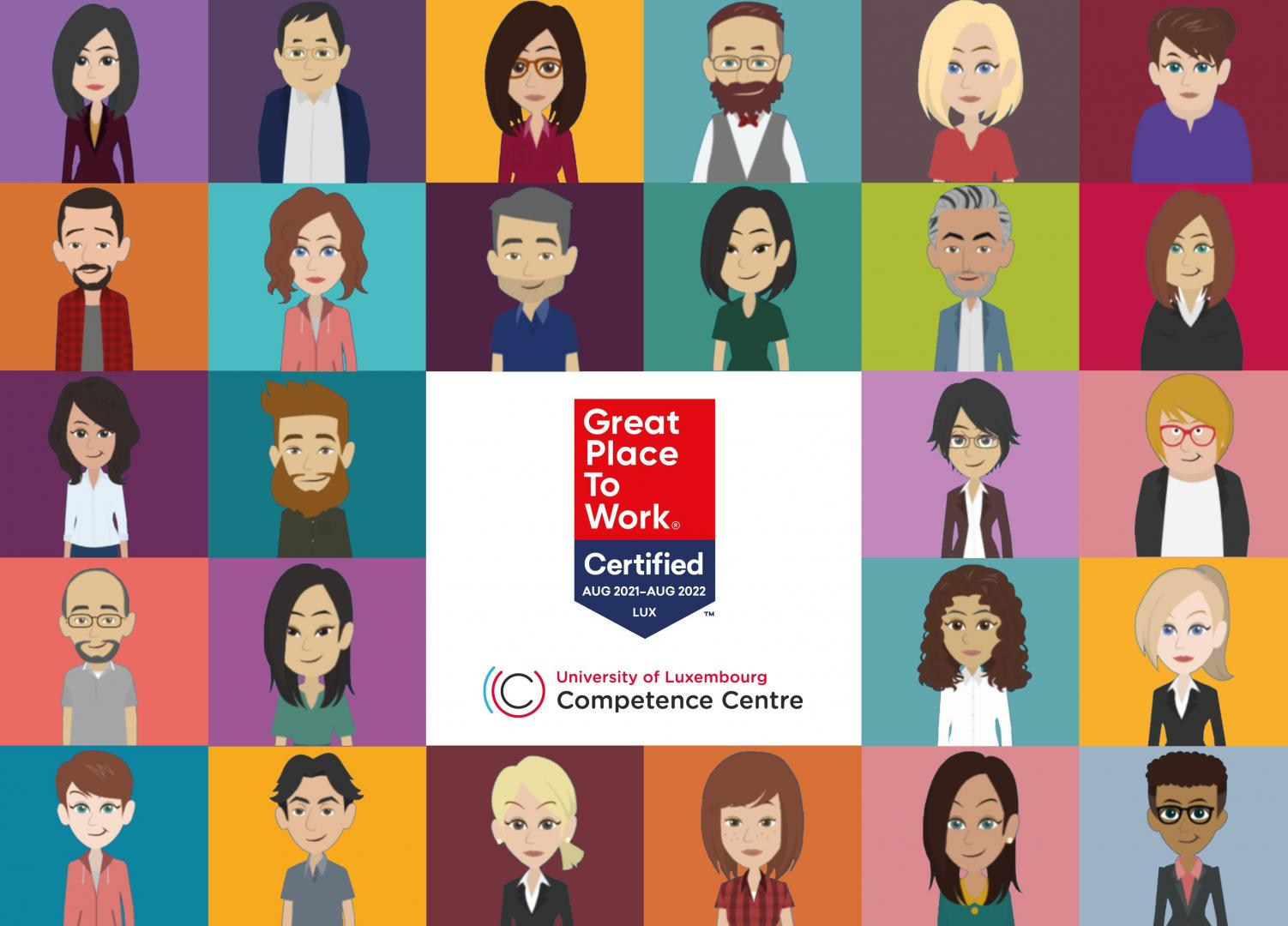 University of Luxembourg Competence Centre certifié Great Place to Work Luxembourg®